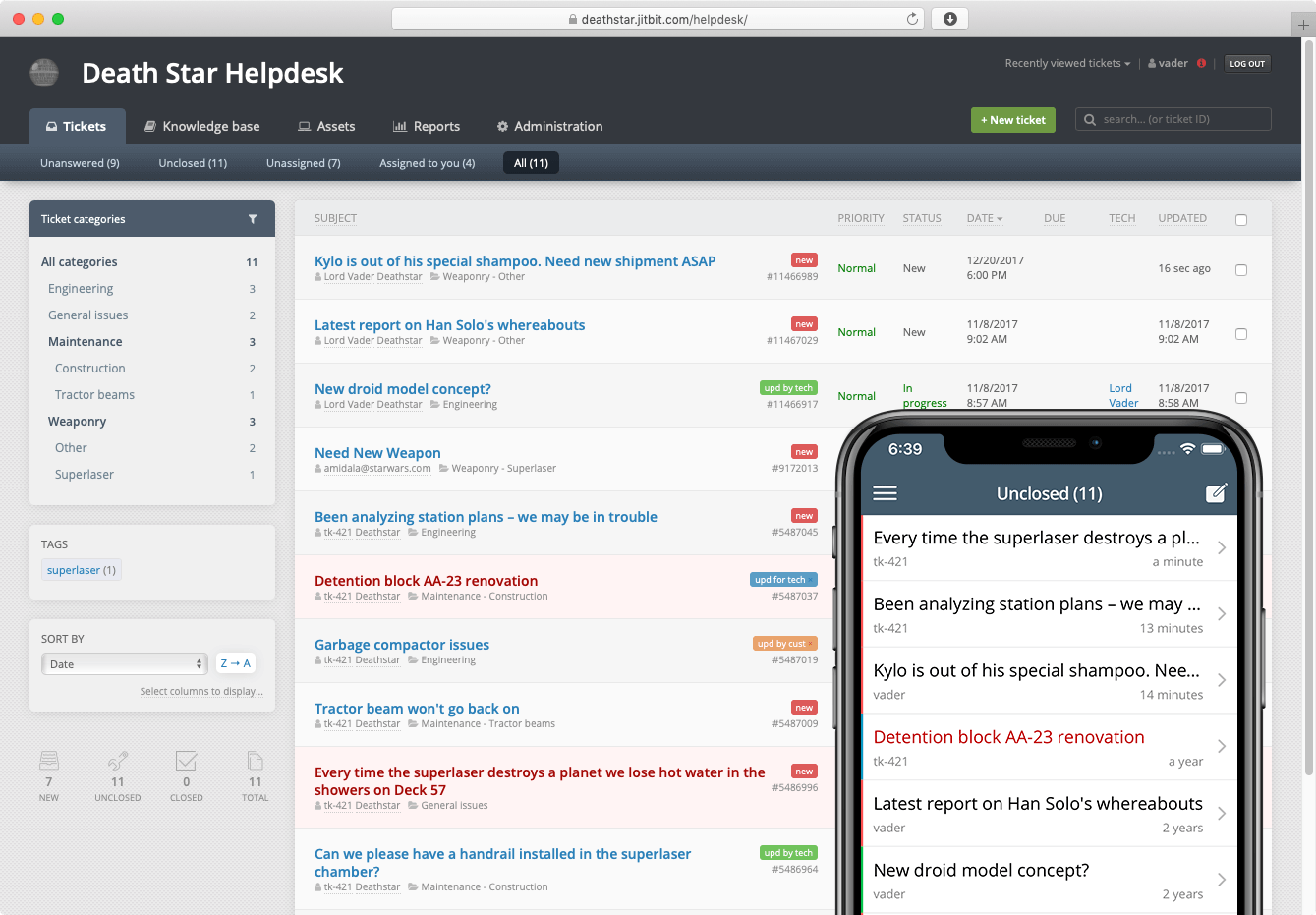 Hosted Saas Help Desk Software